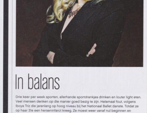 "JFK Magazine ""In Balans"""